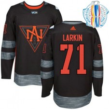 Youth North America Team 2016 World Cup of Hockey #71 Dylan Larkin Black Premier Jersey