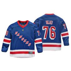 Youth New York Rangers Brady Skjei #76 Royal Replica Player Home Jersey