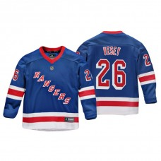 Youth New York Rangers Jimmy Vesey #26 Royal Replica Player Home Jersey