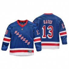 Youth New York Rangers Kevin Hayes #13 Royal Replica Player Home Jersey