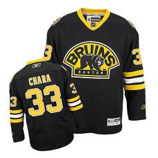 Boston Bruins Zdeno Chara #33 Black Alternate Replica Jersey