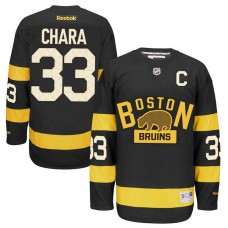 Boston Bruins Zdeno Chara #33 Black 2016 Winter Classic Jersey
